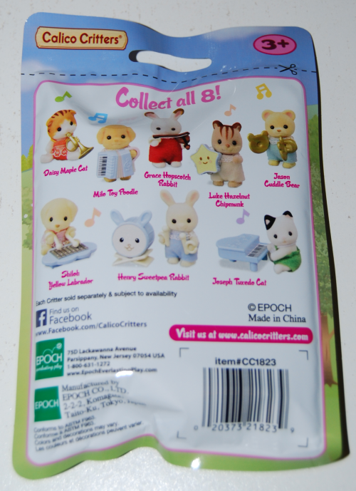 Calico critters baby band x