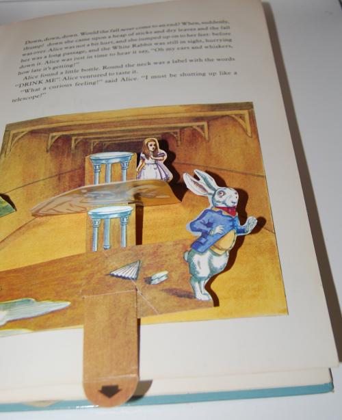 Alice popup book 3