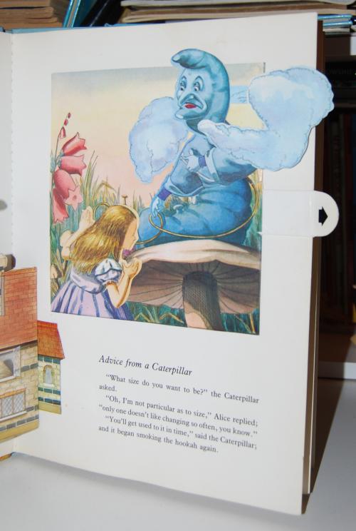 Alice popup book 5
