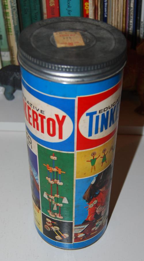 Vintage tinker toy starter set x