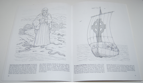 Dover coloring book celtic times 10