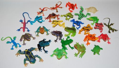 Tiny frogs x