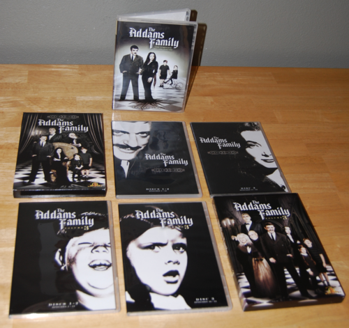 The addams family dvds