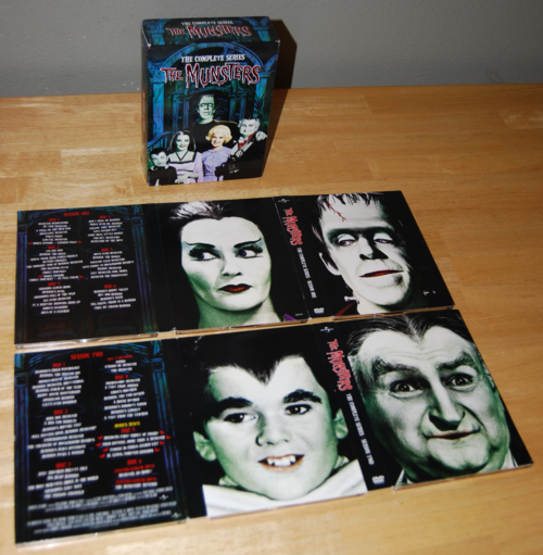 The munsters dvd collection