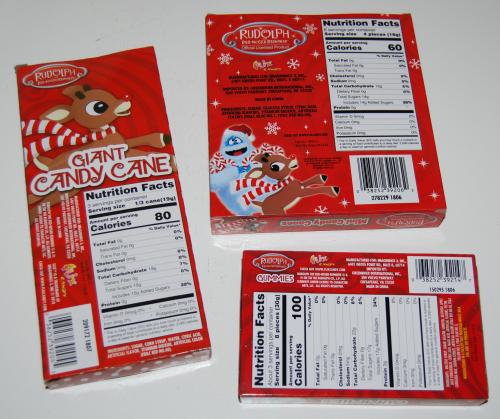 Rudolph xmas treats x