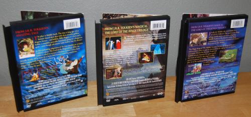 Tolkien dvds x