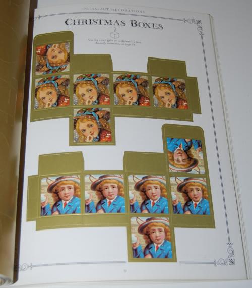 Victorian christmas pressout book 4