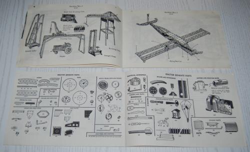 Vintage erector set booklet 3