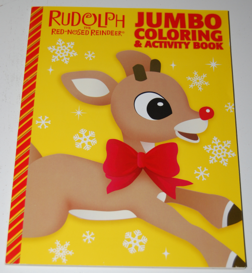 Rudolph the red nosed reindeer coloring book