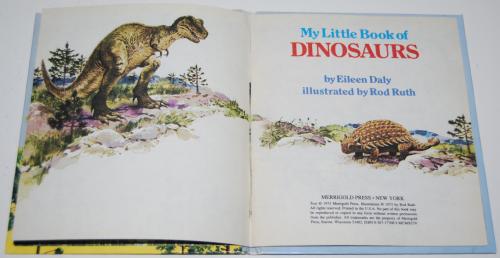 Little book of dinosaurs 2