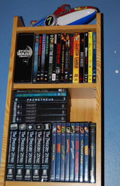 Space room dvds