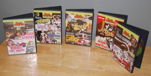 Killer creature double feature dvd