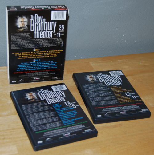 Ray bradbury theater dvd x