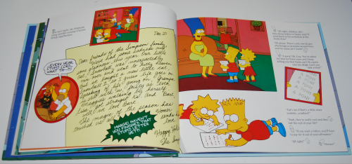 Simpsons xmas book 6