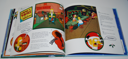 Simpsons xmas book 9