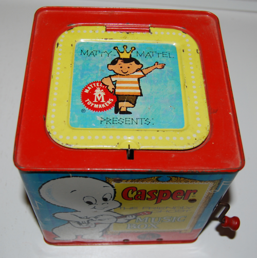 Casper music box mattel 4