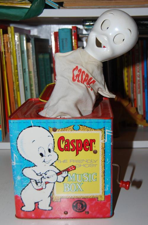 Casper music box mattel 6