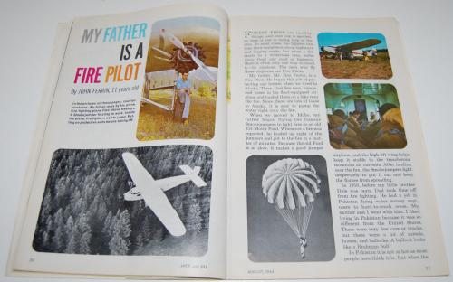 Jack & jill magazine august 1964 5