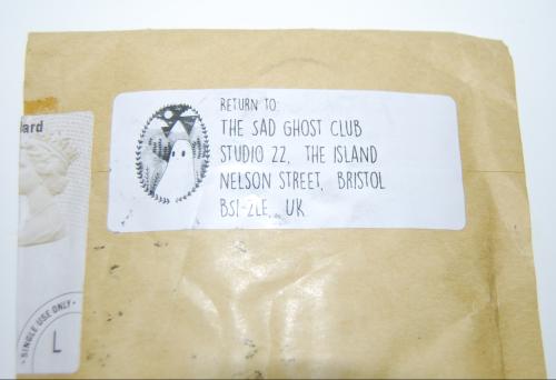Sad ghost club pin uk return