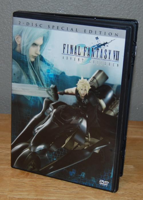 Final fantasy advent children dvd