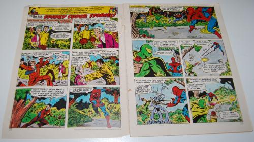 Marvel comics spidey & the electric company 1