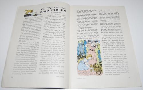 Jack & jill magazine august 1959 3