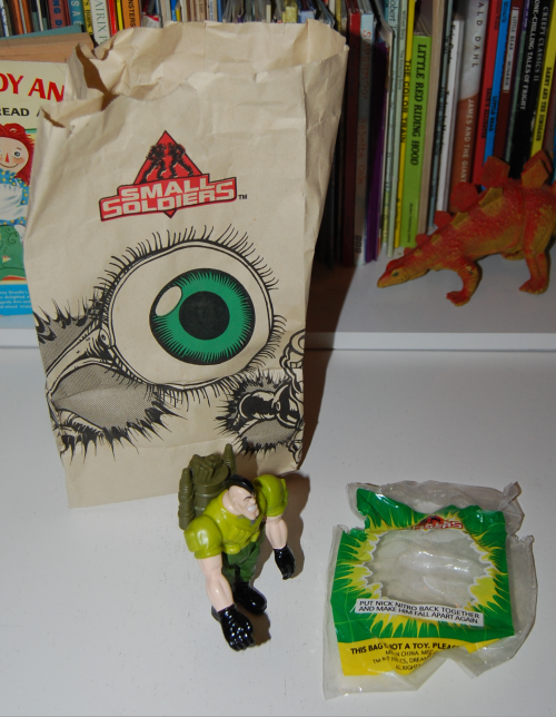 Bk small soldiers kids meal
