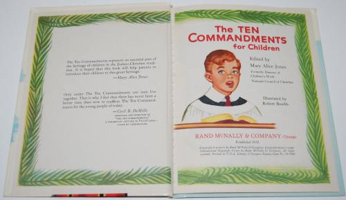 Rand mcnally elf book 10 commandments 1