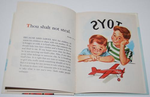 Rand mcnally elf book 10 commandments 5