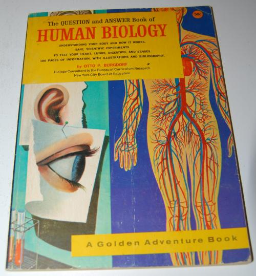 Golden human biology book