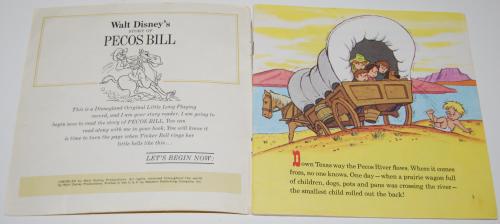 Disney pecos bill vinyl 1