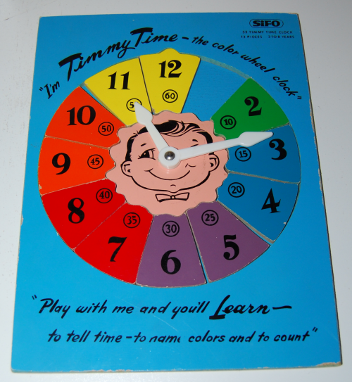 Timmy time vintage wood puzzle