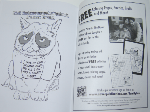 Grumpy cat coloring book 8