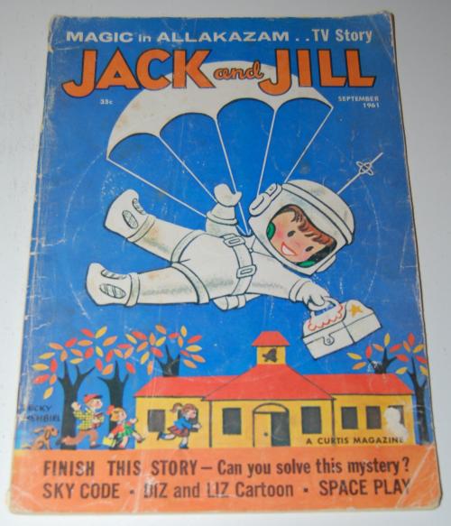 Jack & jill magazine september 1961