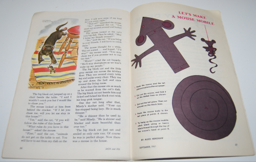 Jack & jill magazine september 1961 14