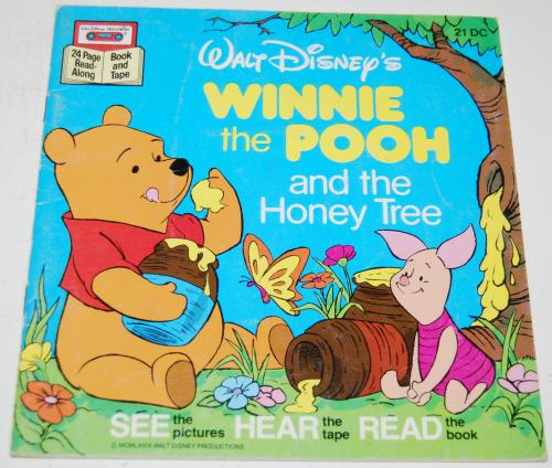 Disney book & cassette winnie the pooh 4