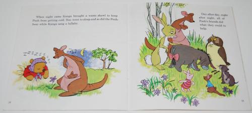 Disney book & cassette winnie the pooh 7