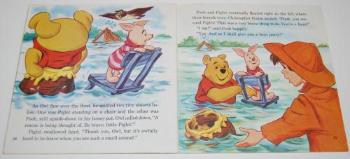 Disney book & cassette winnie the pooh 3