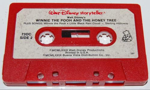 Cassettes disney 4