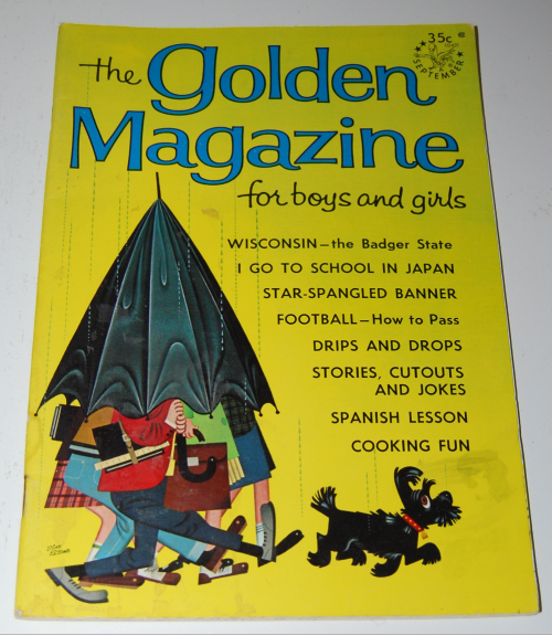 Golden magazine september 1965