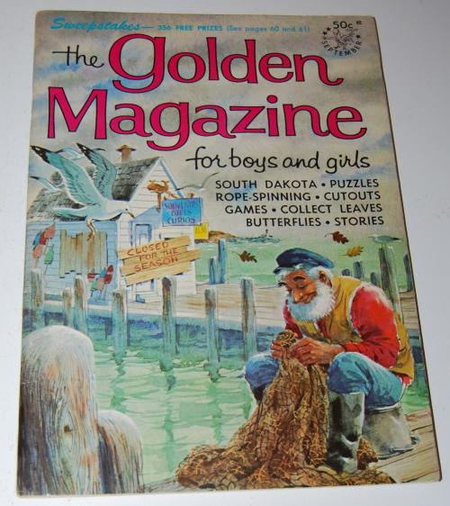 Golden magazine september 1966