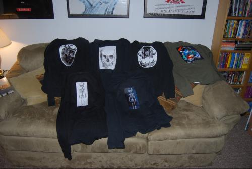 Goth t shirts