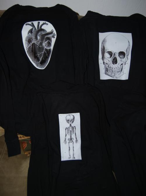 Goth t shirts 1