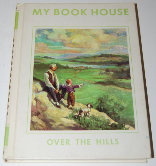 My book house over the hills