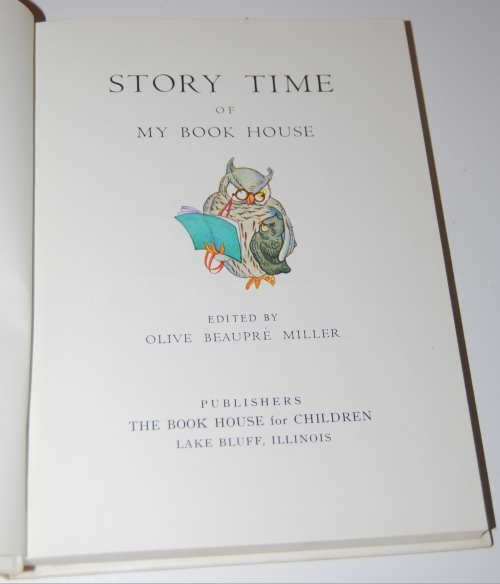 My book house storytime 1