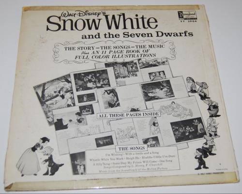 Disney snow white vinyl x