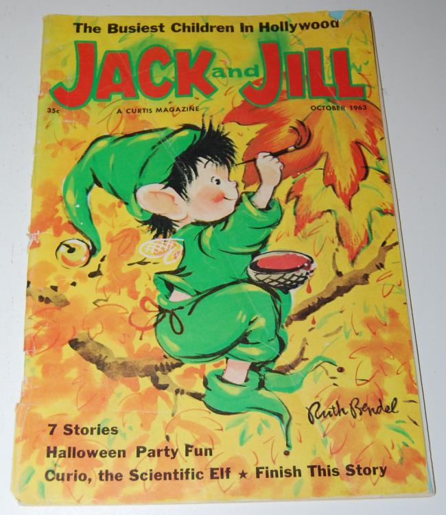 jack & jill magazine ~ october 1963