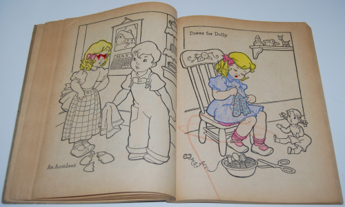 Whitman big big paint book 1948 6