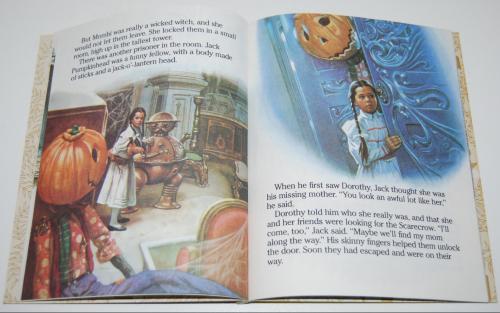 Little golden book  return to oz 4