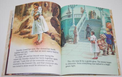 Little golden book  return to oz 5